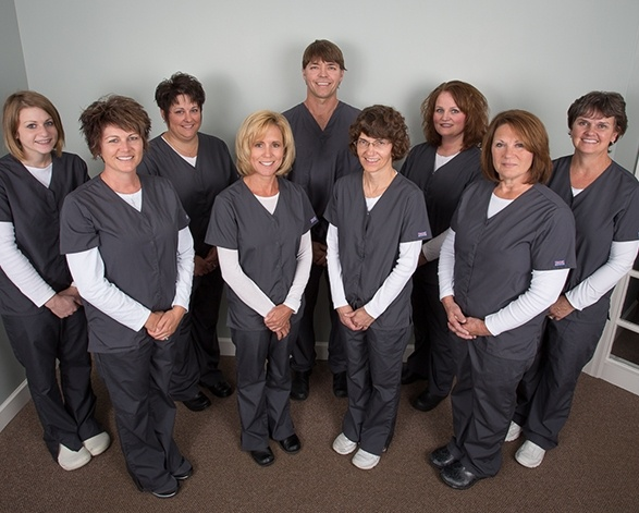 The Carlisle Family & Cosmetic Dentistry team